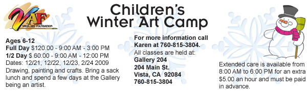 Karen Brake Children's Winter Camp